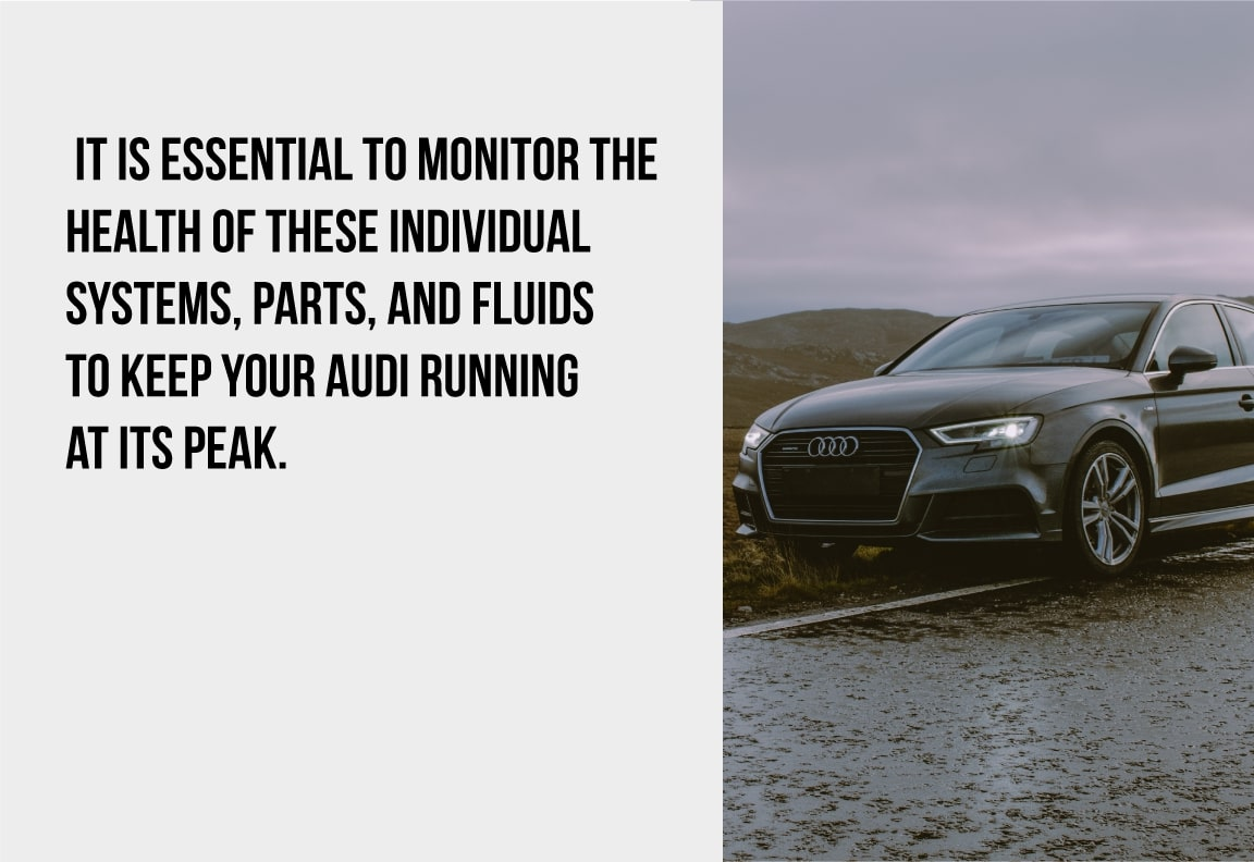 it is essential to monitor your audi's service schedule