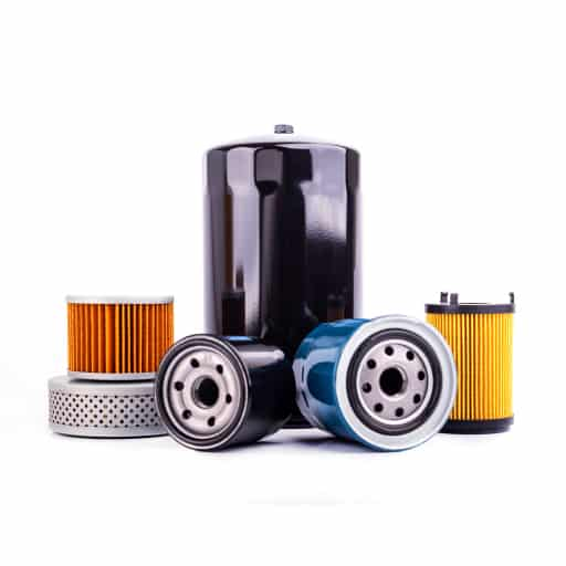various car parts and filters