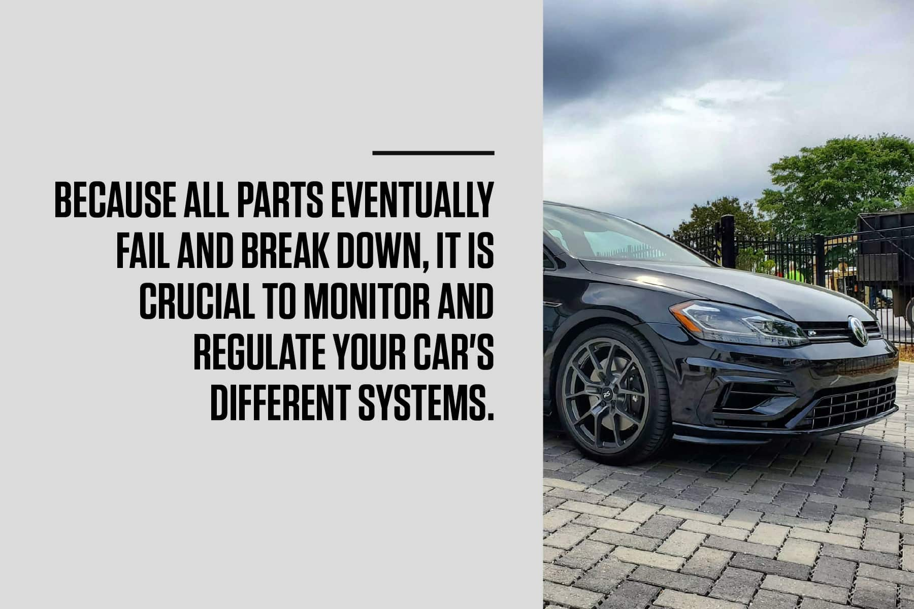 monitor and regulat your VW's maintenance
