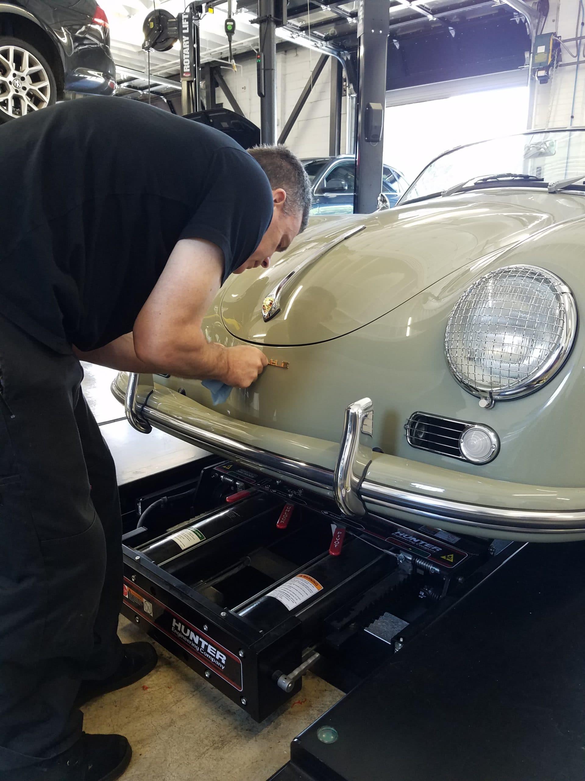 european car technician