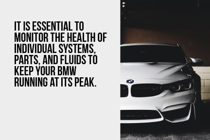 Monitor the heath of your BMW