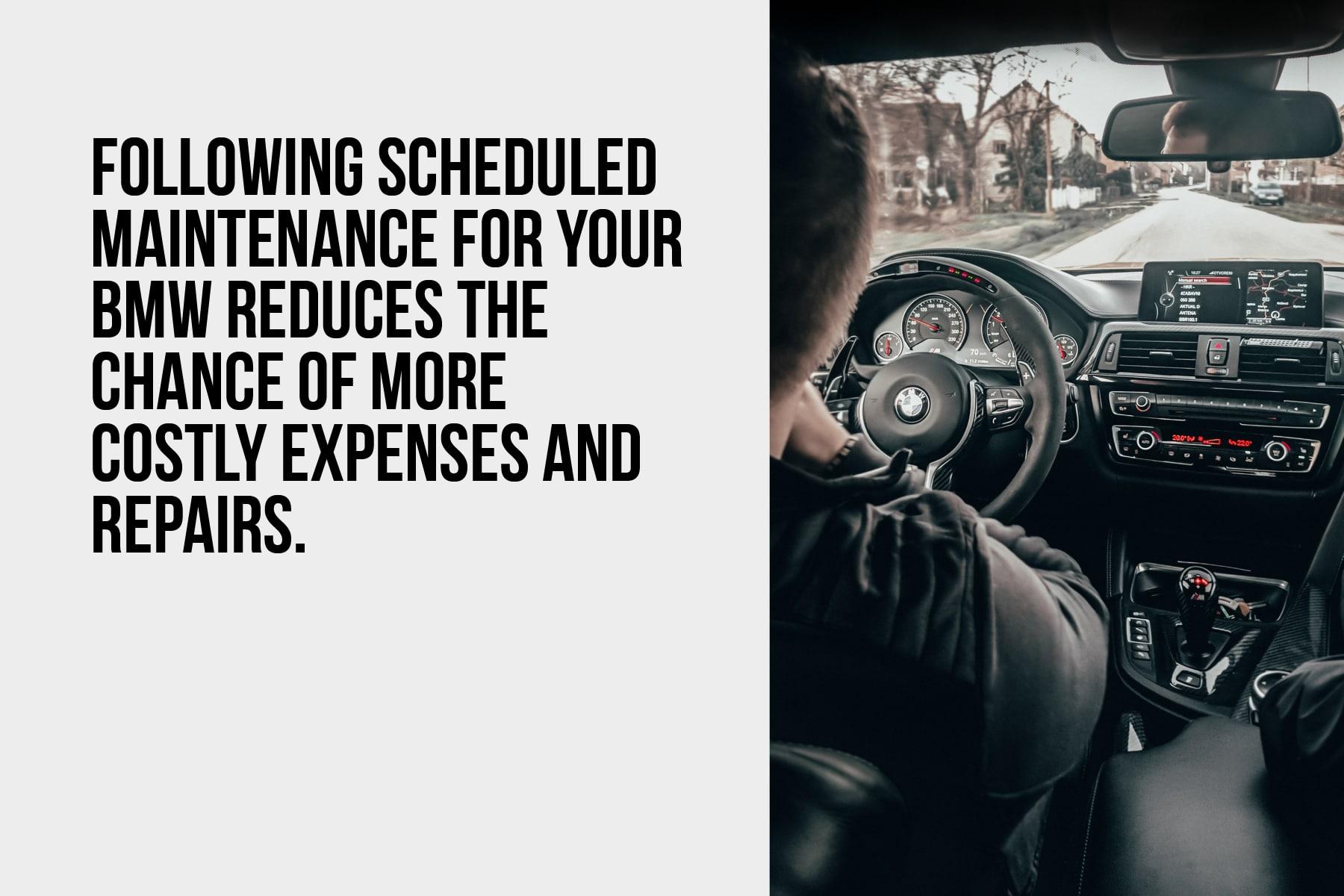 Regular BMW maintenance is important