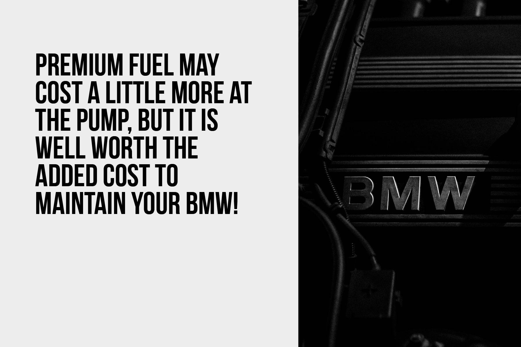 premium fuel is worth the investment